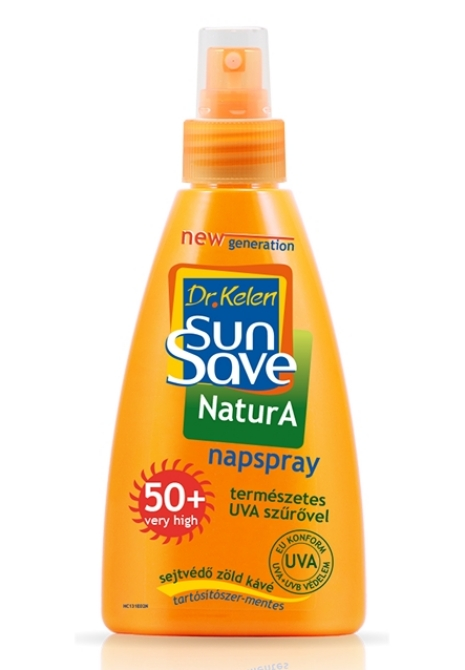 Sunsave napozó spray F50+ 150ml NaturA